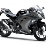 2015 Kawasaki Ninja 250 Ebony Metallic Raw Graystone