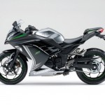 2015 Kawasaki Ninja 250 Metallic Moondust Gray Ebony_1