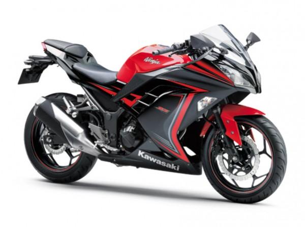 2015 Kawasaki Ninja 250 Special Edition Passion Red Ebony
