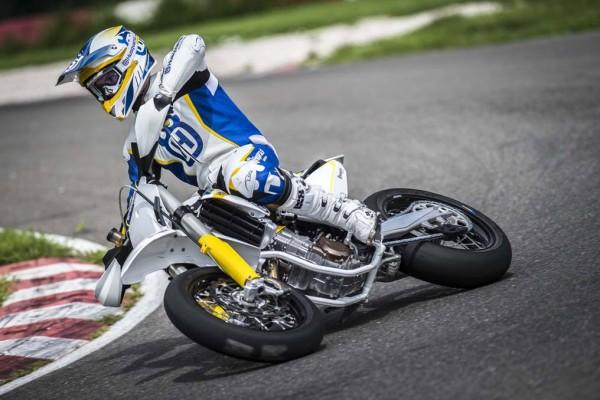 2015 Husqvarna FS 450 Supermoto In Action_1