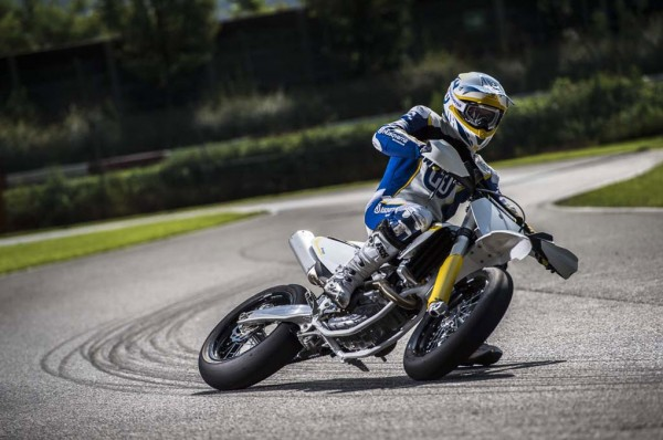 2015 Husqvarna FS 450 Supermoto In Action_9