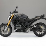 2015 BMW R1200R Thunder Gray Metallic with Agate Gray Metallic Matte frame