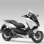 2015 Honda Forza 125 Matt Pearl Cool White with Black