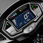 2015 Honda VFR800X Crossrunner Instrument Display