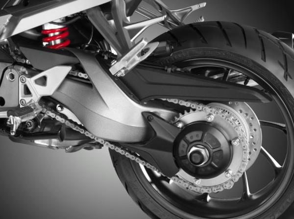 2015 Honda VFR800X Crossrunner Rear Wheel