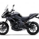 2015 Kawasaki Versys 650 Metallic Spark Black Flat Ebony_2