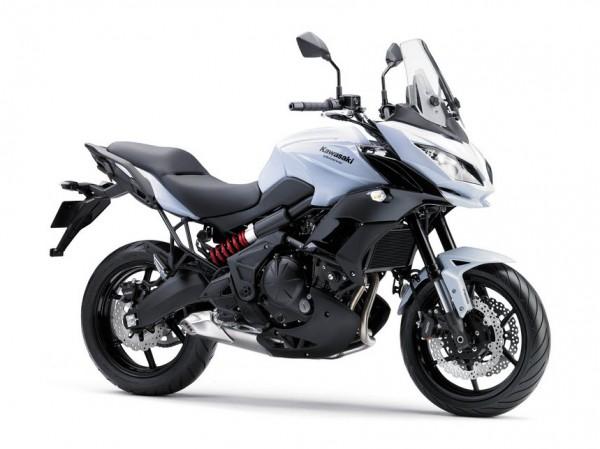2015 Kawasaki Versys 650 Pearl Stardust White