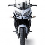 2015 Kawasaki Versys 650 Pearl Stardust White Front