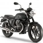 2015 Moto Guzzi V7 Stone Matte Black