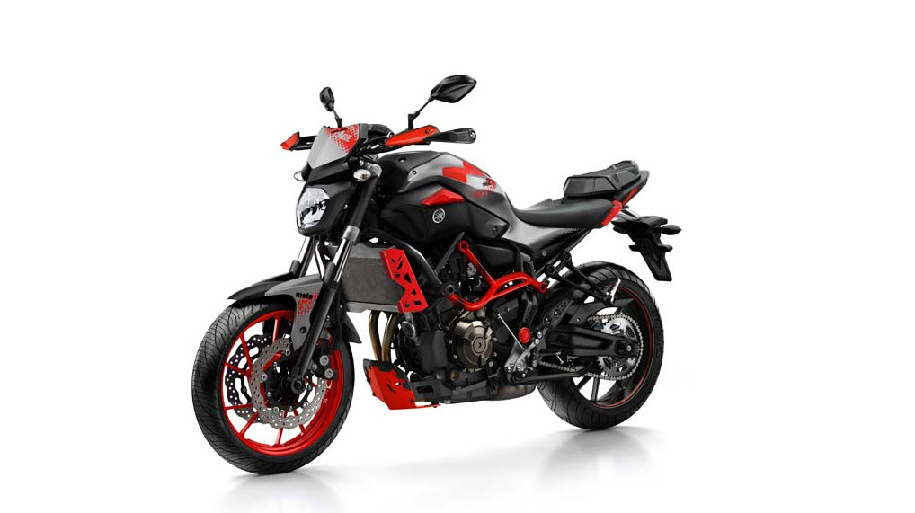2015 yamaha mt 07 moto cage front left side at cpu hunter all pictures and news about. Black Bedroom Furniture Sets. Home Design Ideas