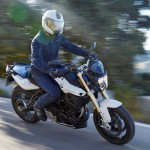 2015 BMW F800R In Action