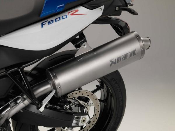2015 BMW F800R Optional Akrapovic Exhaust