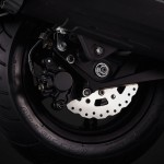 2015 Kymco Agility Maxi 300i Rear Wheel