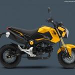 2015 Honda Grom Yellow