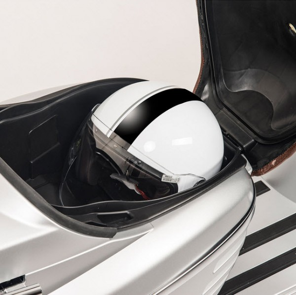 2015 Peugeot Django Sport 150 Seat Storage