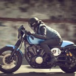 2015 Yamaha XV950 Racer in Action_3