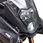 2015 Benelli BN 600GT Headlamp Detail