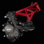 2015 Ducati Monster 1200S Engine