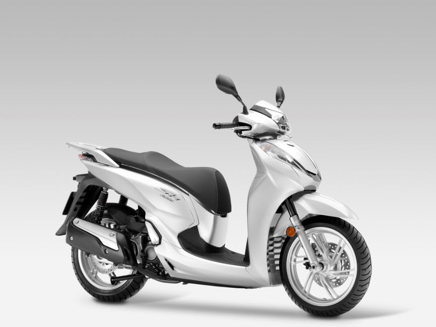 2016 honda sh300i scooter pearl cool white at cpu hunter. Black Bedroom Furniture Sets. Home Design Ideas