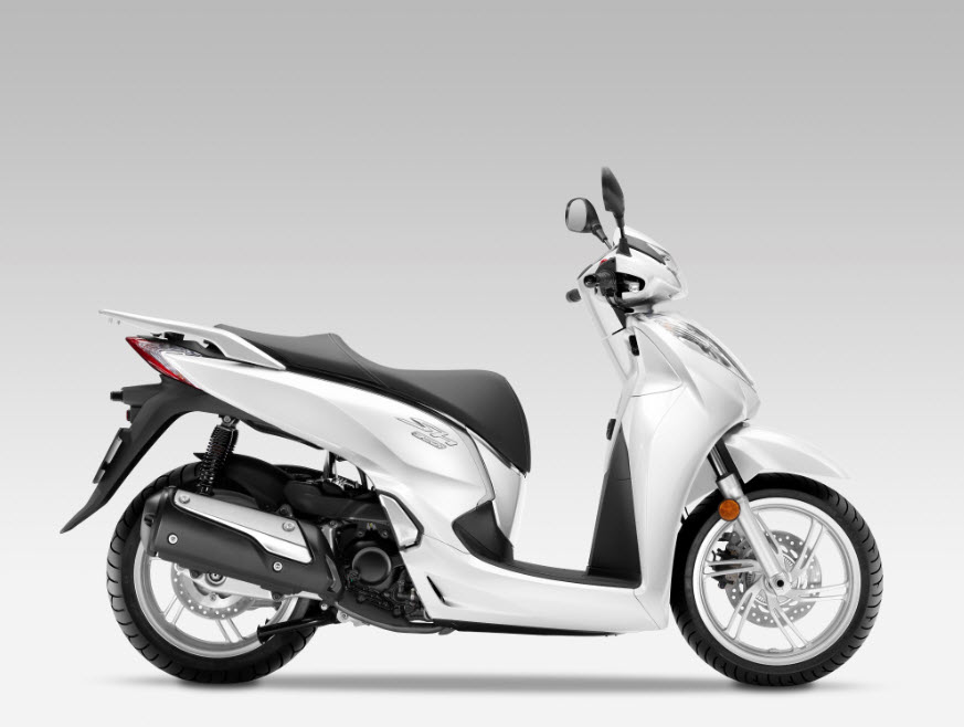 2016 honda sh300i scooter pearl cool white 1 at cpu. Black Bedroom Furniture Sets. Home Design Ideas