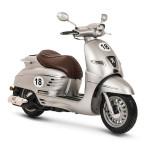 Peugeot Django Sport 50cc Scooter Silver Satin