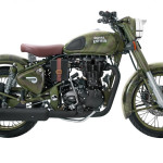 Royal Enfield Classic 500 Despatch Edition Military Green Despatch