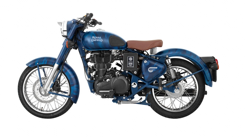 Royal Enfield Classic 500 Despatch Edition Squadron Blue Despatch At
