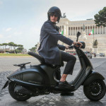 Vespa 946 Emporio Armani Luxurious Scooter on The Road_1