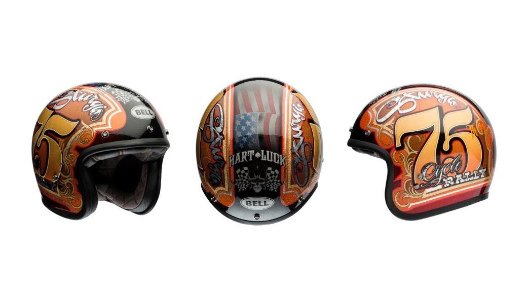 Hart Luck Bell Custom 500 Limited Edition Helmet | CPU Hunter