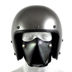 Leather Motorcycle Face Masks by Sunday Academy_1