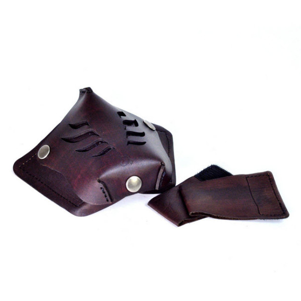 Leather Motorcycle Face Masks by Sunday Academy_6