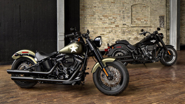 2016 Harley-Davidson Iron 883 and Forty-Eight Dark Custom Sportsters