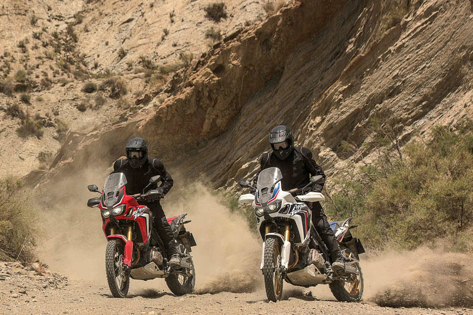 2016 Honda CRF1000L Africa Twin In Action 9