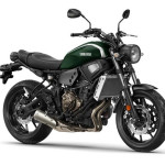 2016 Yamaha XSR700 Forest Green