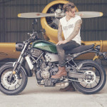 2016 Yamaha XSR700 Retro-styled Streetbike Forest Green_1