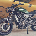 2016 Yamaha XSR700 Retro-styled Streetbike Forest Green_7