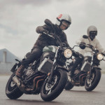 2016 Yamaha XSR700 Retro-styled Streetbike In Action_2
