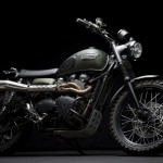 Triumph Scrambler Jurassic World Motorcycle Matte Green