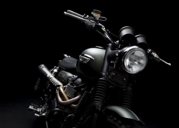 Triumph Scrambler Jurassic World Motorcycle Matte Green_1