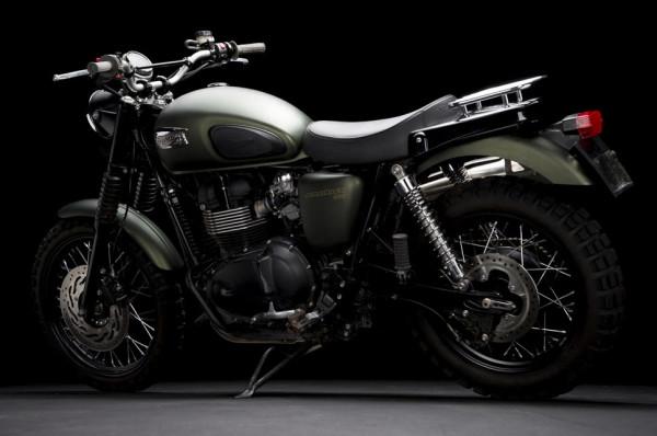 Triumph Scrambler Jurassic World Motorcycle Matte Green_7