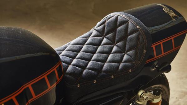 Yamaha Yard Built XJR1300 Cafe Racer by Iron Heart Custom Seat