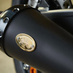 Yamaha Yard Built XJR1300 Cafe Racer by Iron Heart Logo