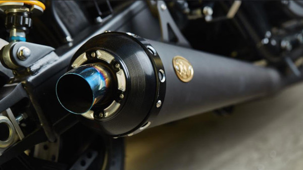Yamaha Yard Built XJR1300 Cafe Racer by Iron Heart Mufflers