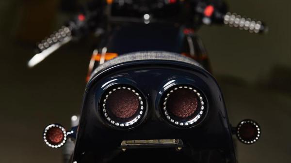 Yamaha Yard Built XJR1300 Cafe Racer by Iron Heart Taillight