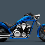 2016 Honda Fury Ultra Blue Metallic