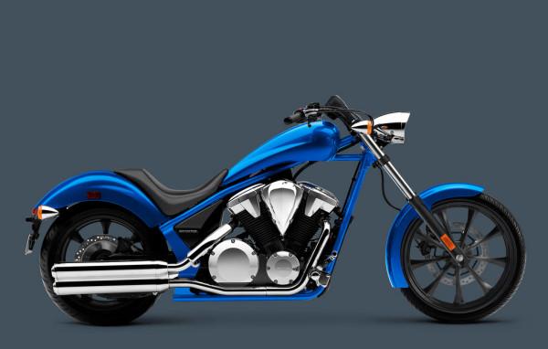 2016 Honda Fury Ultra Blue Metallic