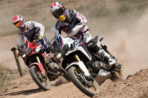 Marquez and Barreda Test The 2016 Honda CRF1000L Africa Twin