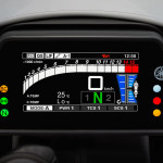 Yamaha YZF-R1 60th Anniversary Edition Instrument Display