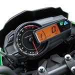 2016 Kawasaki Z125 Dashboard