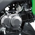 2016 Kawasaki Z125 Poweplant